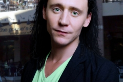 Tom-to-Loki manips. Drawn on hair, general color and skin color adjustments. Photoshop.