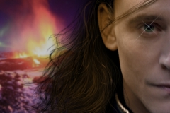 Facebook covers. Photoshop. Drawn on hair and other adjustments.