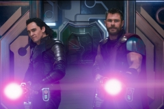 Loki and Thor shoot their way through Sakaar