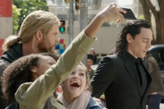 Loki and Thor in New York