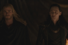 Thor releases Loki from his cell...with conditions