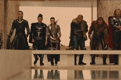 Very pretty deleted scene with Loki on his horse as the left Asgard for Jotunheim.