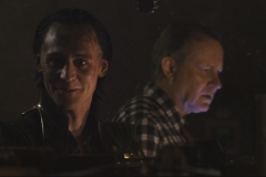 Loki visits Midgard and an unaware Erik Selvig